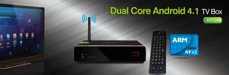 Android TV Dual-core - ATV1200